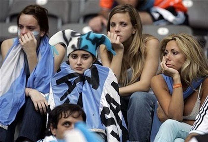 Расстроенные болельщики (60 фото)