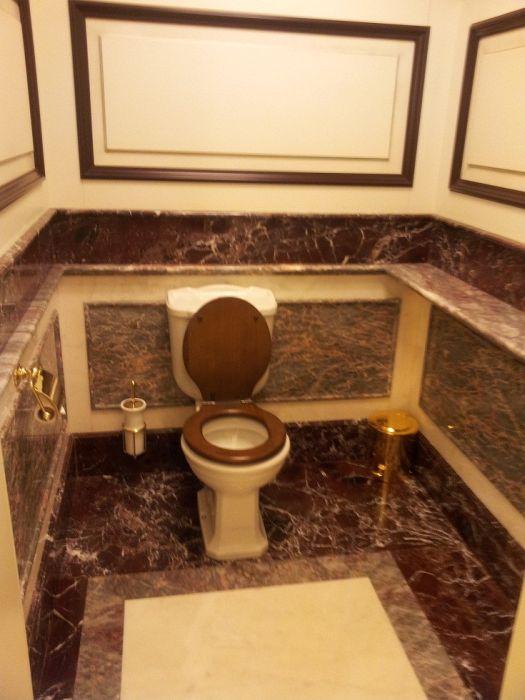 Необычный туалет в ГУМе (10 фото)