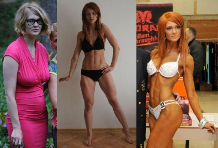 Девушка, которая сбросила вес (7 фото)