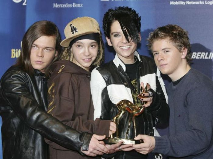 Tokio Hotel тогда и сейчас (7 фото)