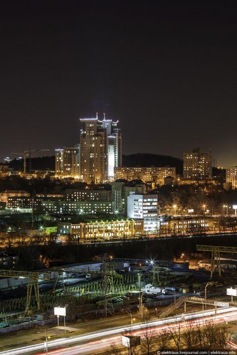 Киев ночью (20 фото)