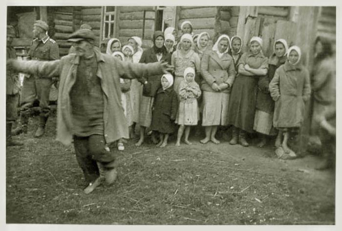 Оккупация, фотографии немецкой стороны (45 фото)