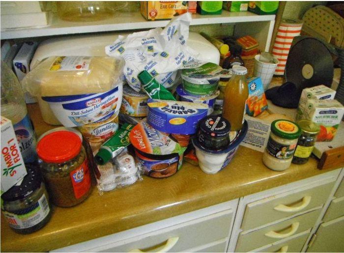 Холодильник одного американца (4 фото)