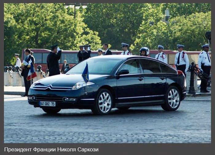 Автомобили первых лиц (11 фото)