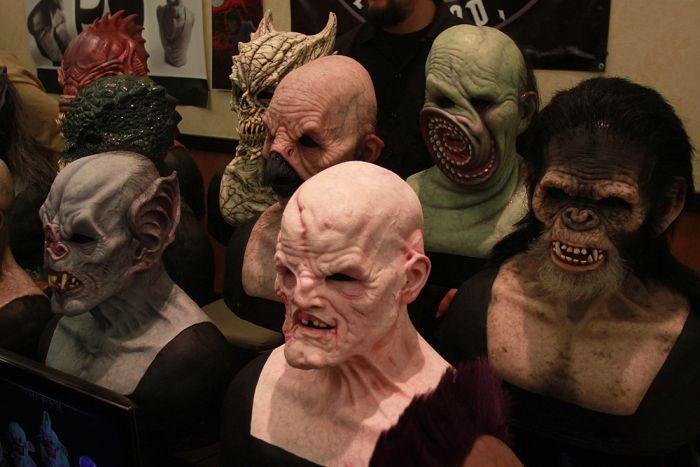 Monstruos espeluznantes, las mejores mascaras y trajes