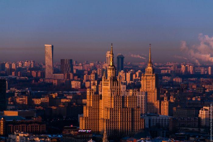 Рассвет над Москвой (30 фото)