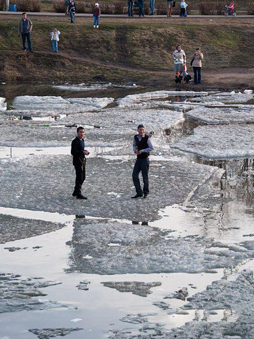 Идиоты на льду (19 фото)