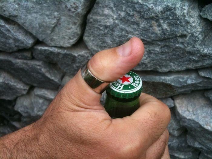 Пивное кольцо (5 фото)