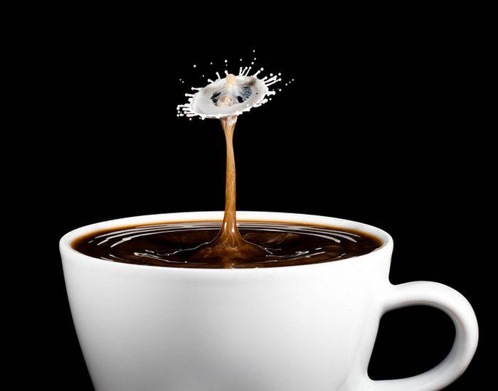 Всплески кофе (39 фото)