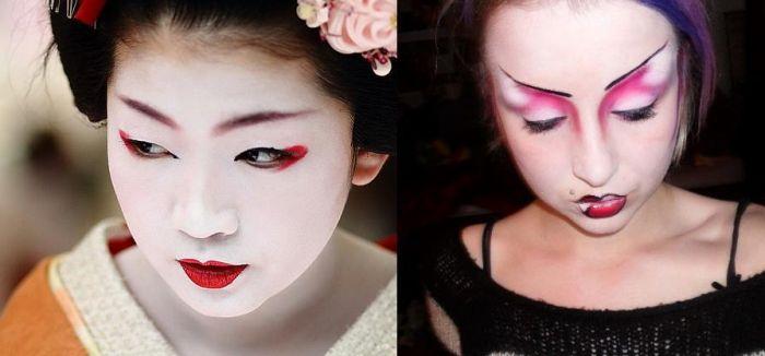 Жуткий макияж (51 фото)