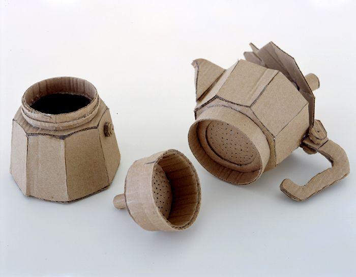 Скульптуры из картона (33 фото)