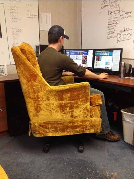 Как сделать кресло своими руками для компьютера 32