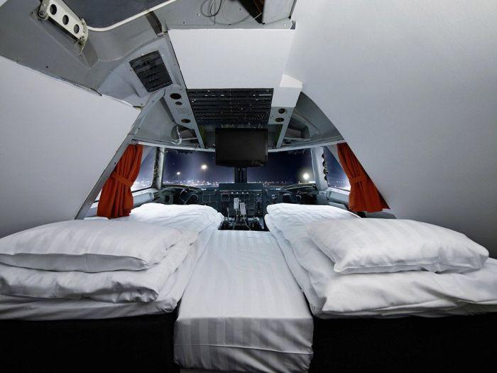 Отель в Боинге-747 (14 фото)