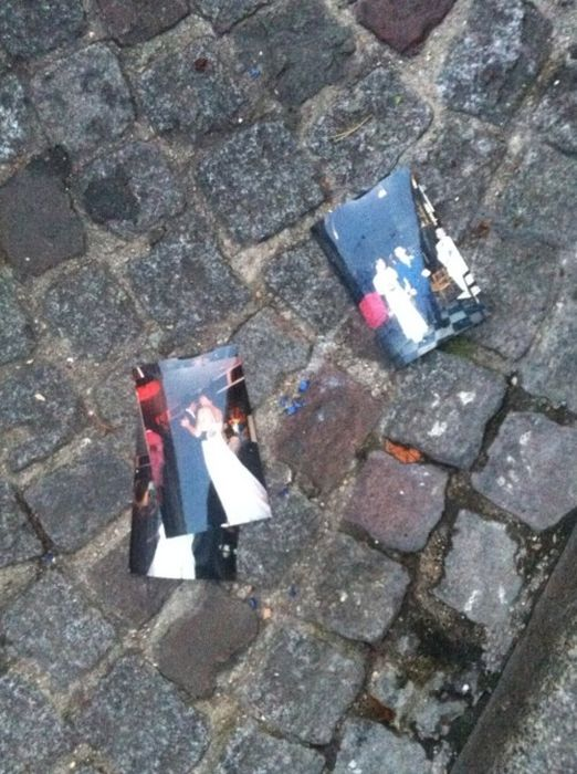 Вещи на улицах города (70 фото)