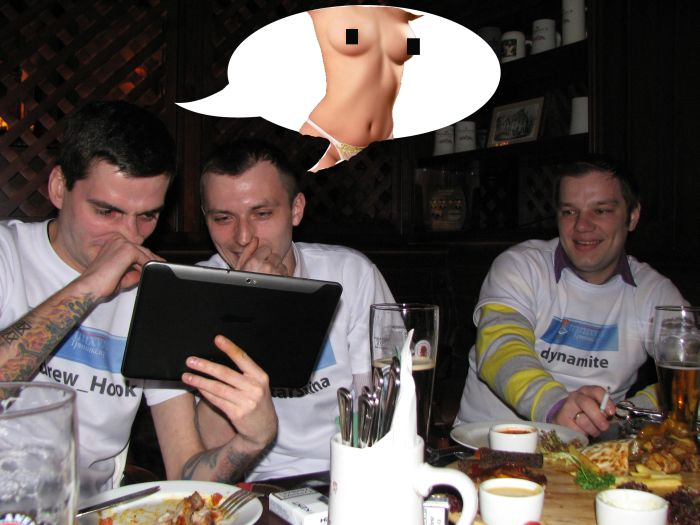 Сходка Триникси в Москве. Отчет