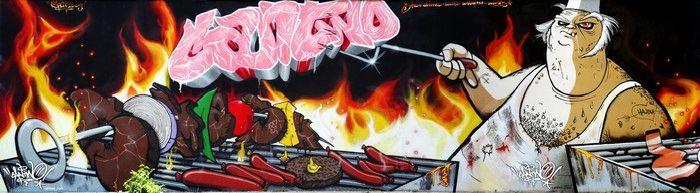 Граффити от Can2 (39 фото)