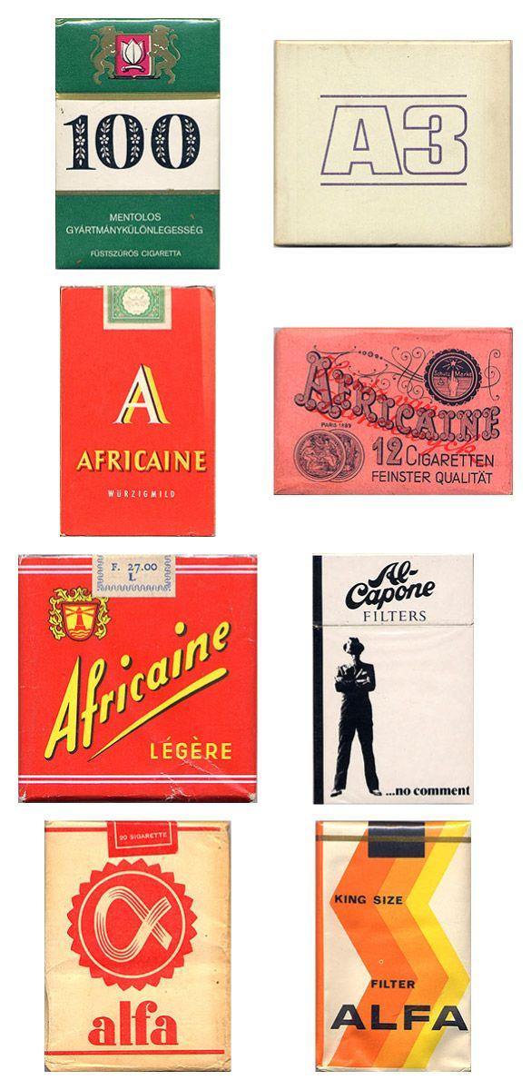 Старые пачки сигарет (20 картинок)