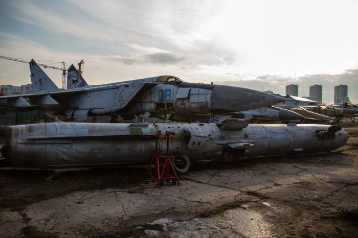 Ходынка - музей авиации и космонавтики (43 фото)
