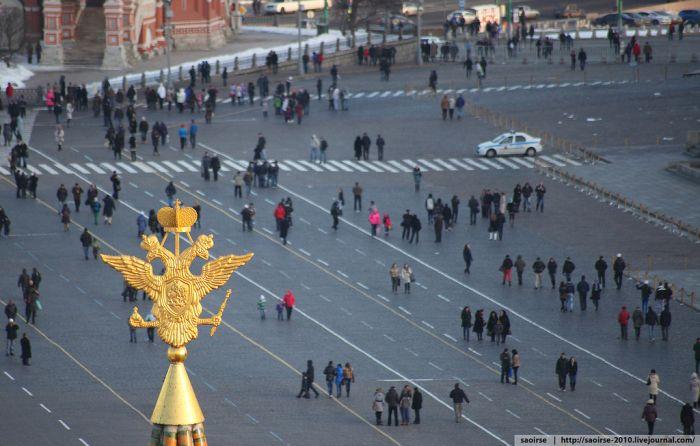 """С крыши """"Москвы"""" (36 фото)"""