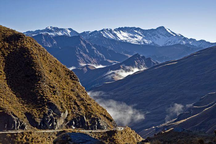 Самые опасные дороги в мире (91 фото)