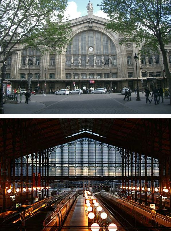 Самые красивые железнодорожные станции (10 фото)