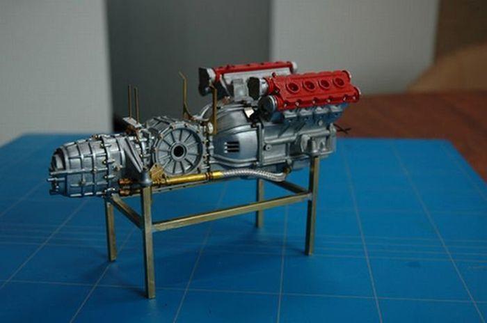 Ferrari F40 своими руками (32 фото)