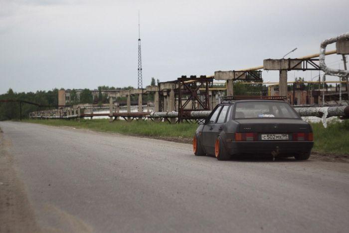 Тюнингованный ВАЗ (8 фото)