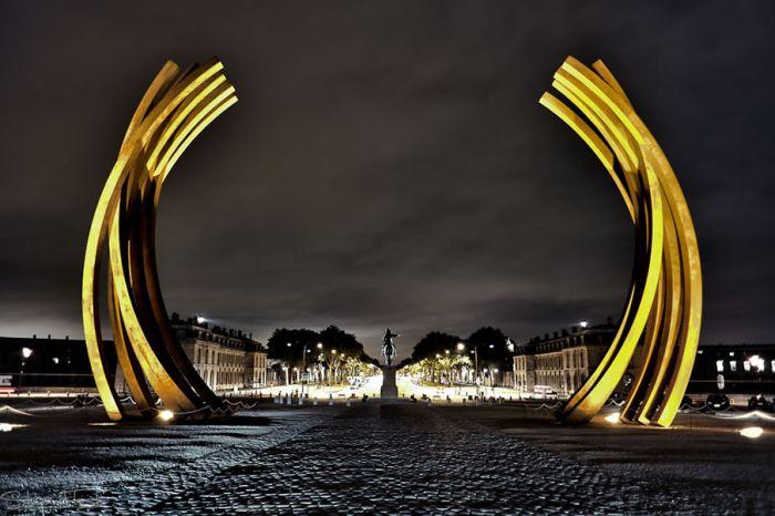 Достопримечательности ночью (48 фото)