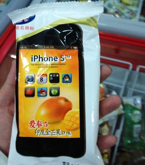 Китайский iPhone 5 уже в продаже (4 фото)