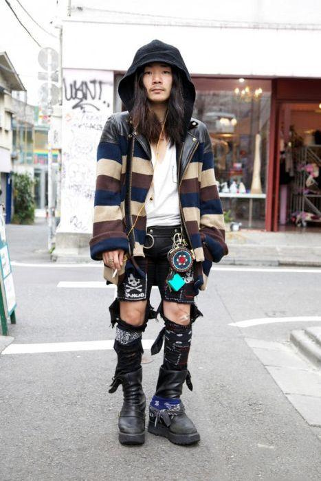 Необычная мода в Токио. Часть 2 (60 фото)