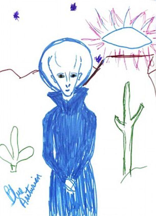 Инопланетные встречи (25 фото)