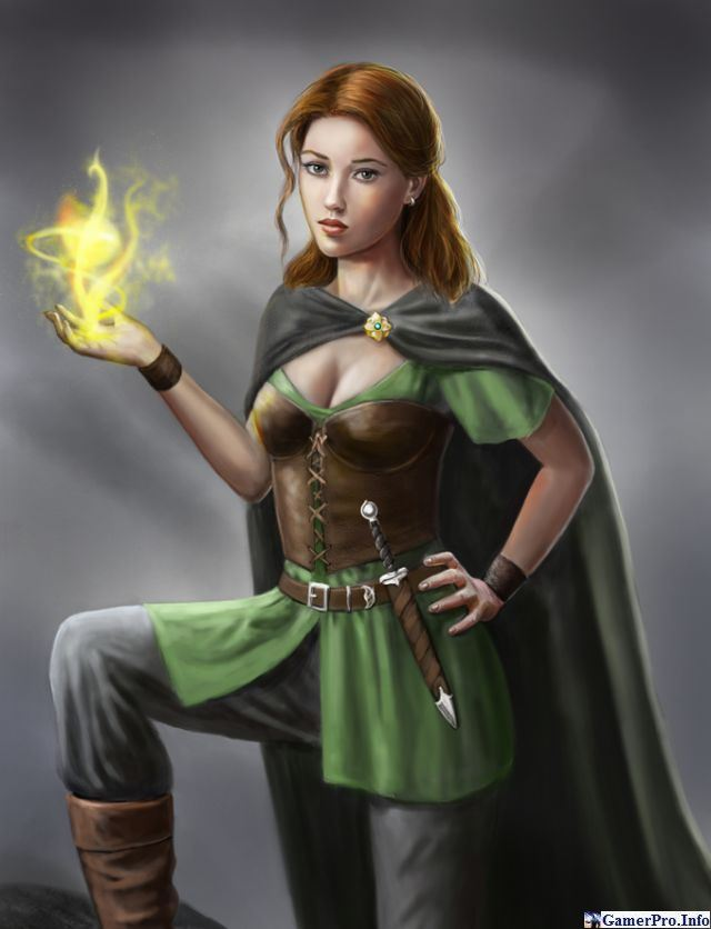 Красивые рисунки девушек из компьютерных игр (20 картинок)