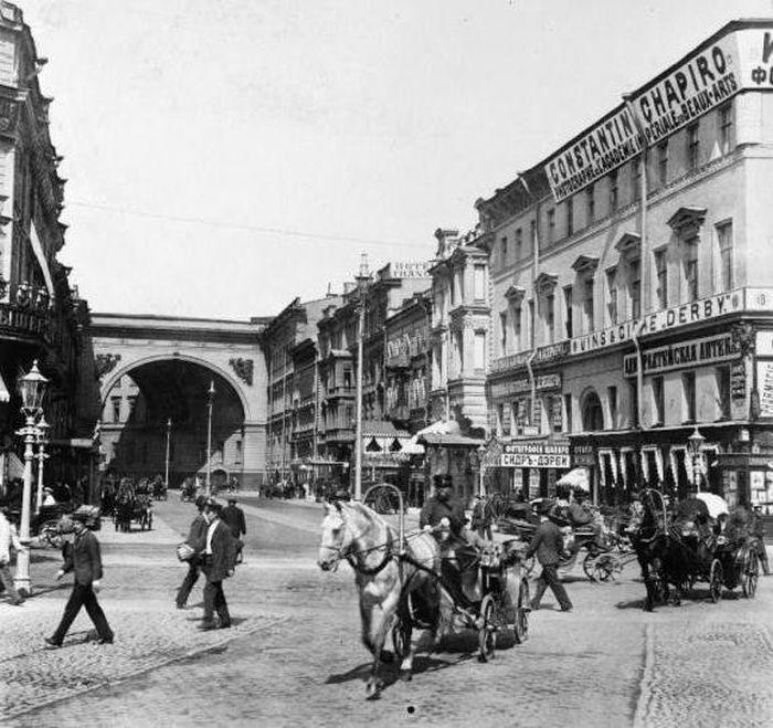 Старый Санкт-Петербург (54 фото)