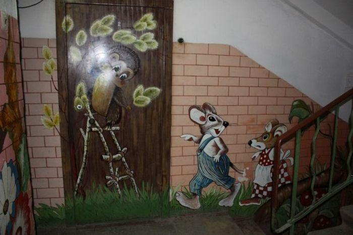 Художник по соседству (32 фото)