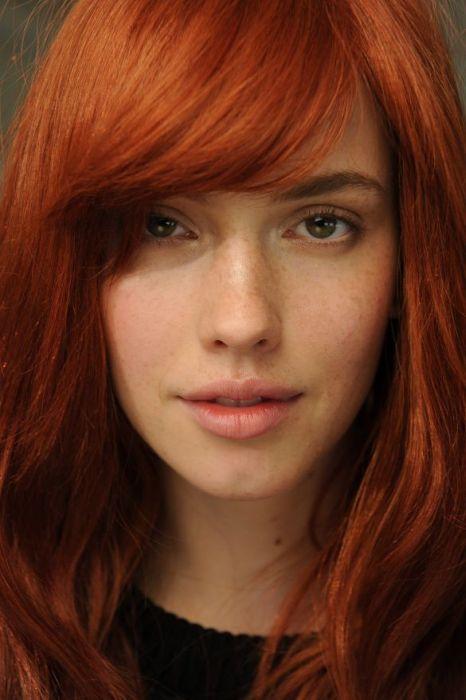Красивые рыжеволосые девушки (60 фото)