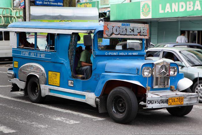 Маршрутки на Филиппинах (50 фото)