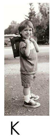 Как взрослел ребенок (13 фото)