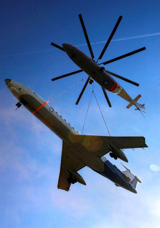 Как собирают вертолеты (18 фото)
