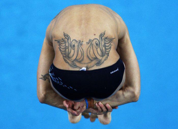 Спортивные татуировки (39 фото)