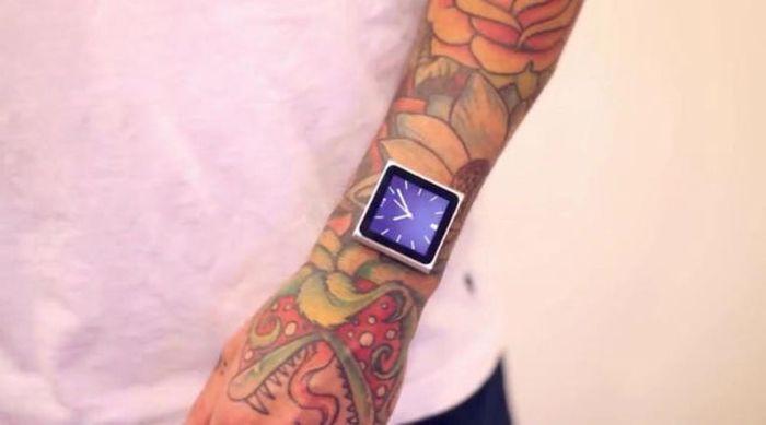 Безумный моддинг тела для iPod Nano (7 фото)