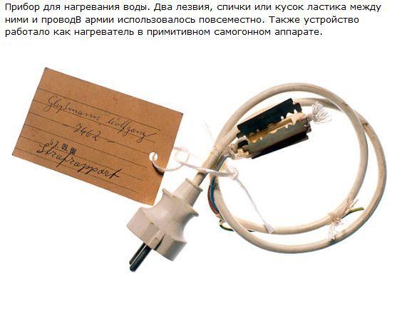 Тюремные изобретения (12 фото)