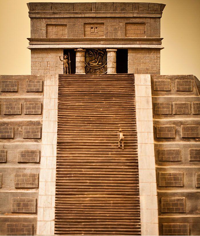 Самая большая в мире скульптура из шоколада (7 фото)