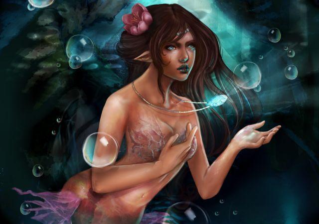 Нарисованные девушки из мира фэнтези (45 картинок)