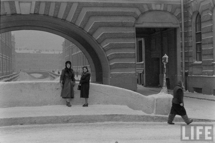 Американцы в Ленинграде 50-х годов (45 фото)