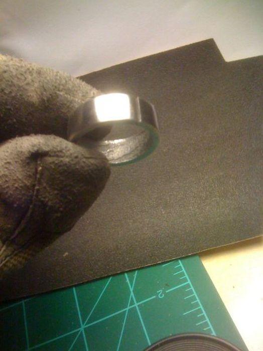 Кольцо из метеорита (45 фото)