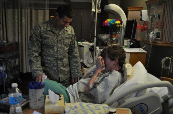 Возвращение солдата (4 фото)