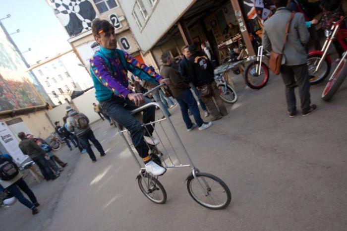 Выставка необычных велосипедов в Санкт-Петердбурге (36 фото)