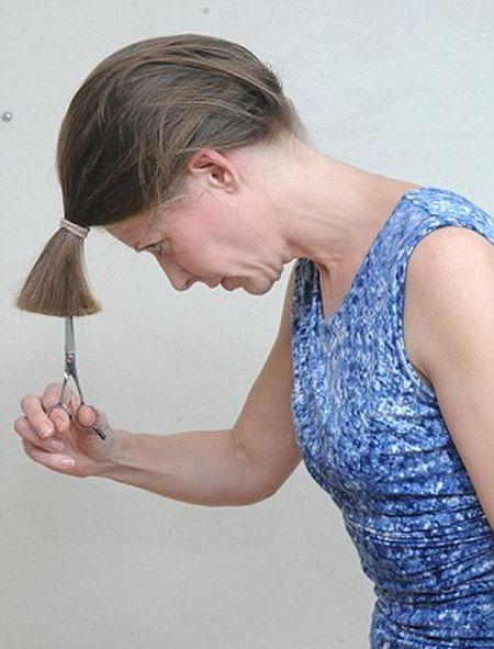Стрижка своими руками (7 фото)