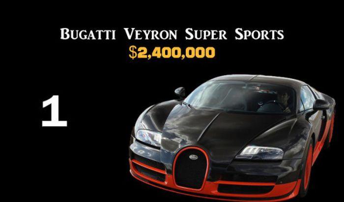 Самые дорогие авто в мире (11 фото)