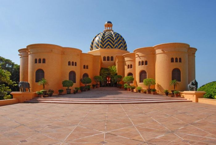 Вилла в Мексике (27 фото)